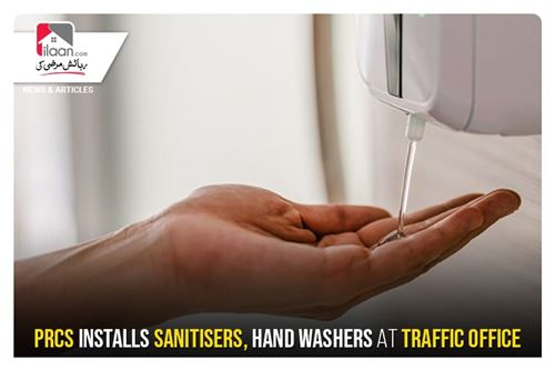 PRCS installs sanitizers, hand washers at traffic office
