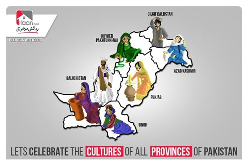Lets Celebrate The Cultures of All Provinces of Pakistan