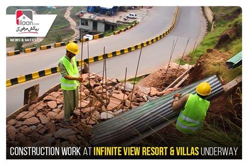 Construction Work at Infinite View Resort & Villas Underway