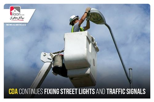 CDA continues fixing street lights and traffic signals
