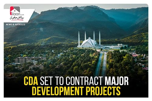 CDA set to contract major development projects