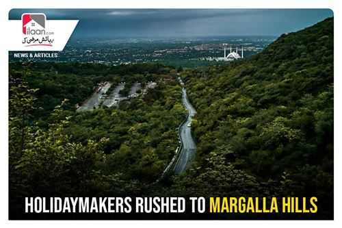Holidaymakers rushed to Margalla Hills