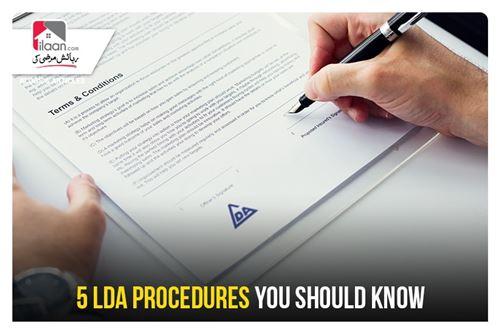 5 LDA Procedures You Should Know