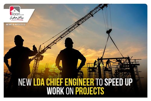 New LDA chief engineer to speed up work on projects