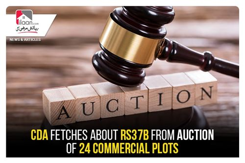 CDA fetches about Rs37b from auction of 24 commercial plots