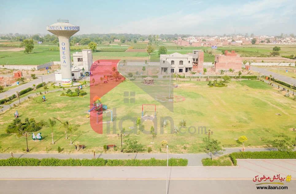 3.11 Marla Commercial Plot for Sale in Sector C, Omega Residencia, Lahore