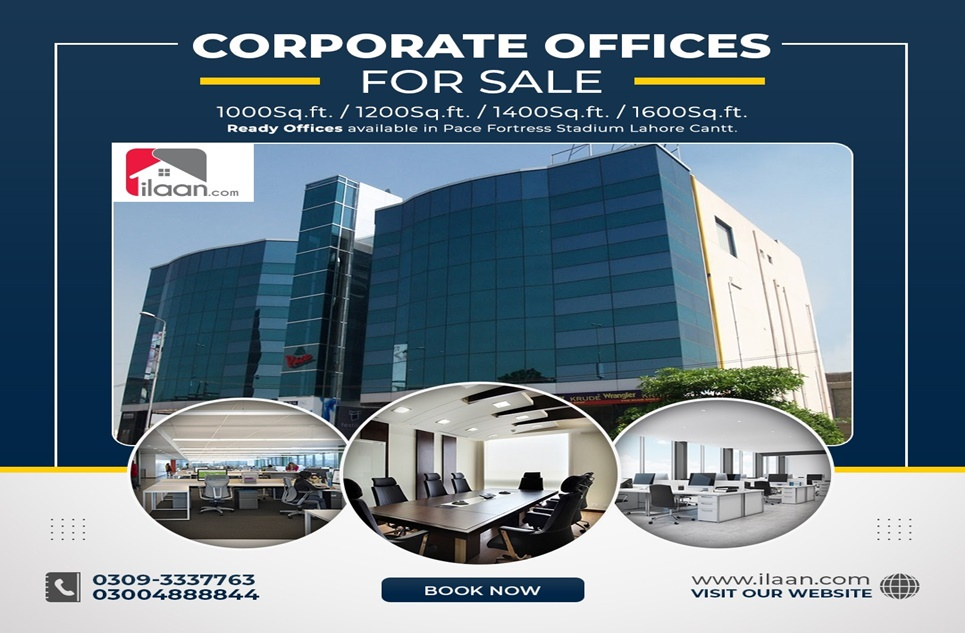 1200 Sq.ft Office for Sale in Pace, Fortress Stadium, Lahore