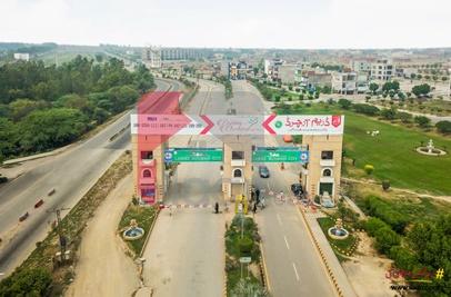 4 Marla Commercial Plot for Sale in Overseas Premium Block, Lahore Motorway City, Lahore
